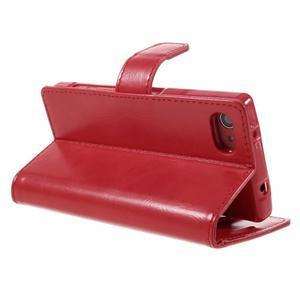 Bluemoon PU kožené puzdro pre Sony Xperia Z5 Compact - červené - 5