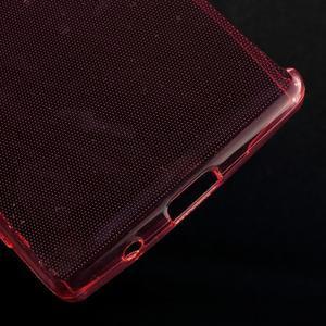 Ultratenký slim gélový obal pre Sony Xperia Z5 Compact - červený - 5