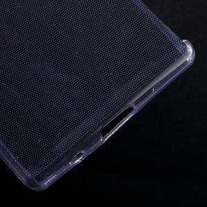 Ultratenký slim gélový obal pre Sony Xperia Z5 Compact - fialový - 5