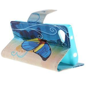 Wally Peňaženkové puzdro pre Sony Xperia Z5 Compact - motýľ - 5