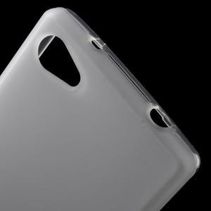 Matný gélový obal pre Sony Xperia Z5 Compact - biely - 5