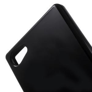 Solid lesklý gelový obal na mobi Sony Xperia Z5 Compact - černý - 5