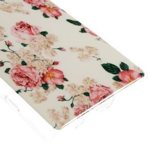 Gélový obal pre mobil Sony Xperia Z5 Compact - kvetiny - 5