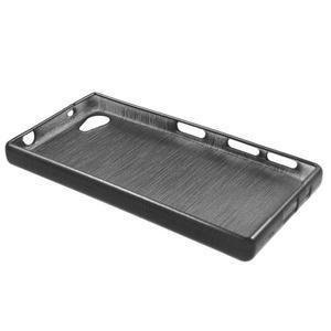 Brush gelový obal na Sony Xperia Z5 Compact - černý - 5