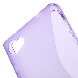 S-line gelový obal na Sony Xperia Z5 Compact - fialový - 5