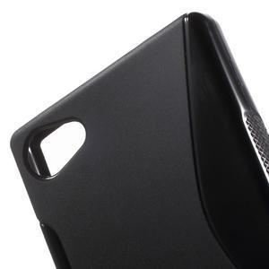 S-line gelový obal na Sony Xperia Z5 Compact - černý - 5