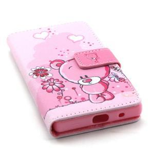 Peňaženkové puzdro pre mobil Sony Xperia Z5 Compact - medvedík - 5