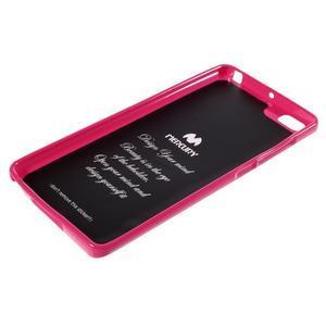Jells gelový obal na mobil Xiaomi Mi Note - rose - 5
