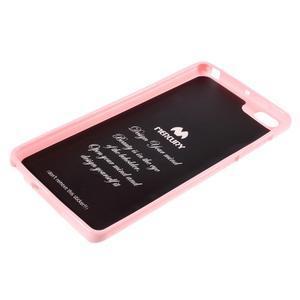 Jells gélový obal pre mobil Xiaomi Mi Note - ružový - 5