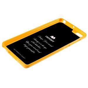 Jells gélový obal pre mobil Xiaomi Mi Note - žlutý - 5