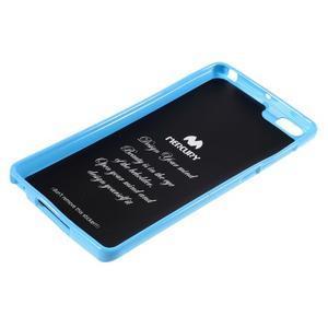 Jells gélový obal pre mobil Xiaomi Mi Note - svetlomodrý - 5