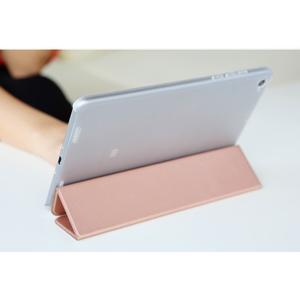 Trifold polohovateľné puzdro pre tablet Xiaomi Mi Pad 2 - zlatoružové - 5