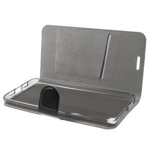 Horse peňaženkové puzdro pre mobil Xiaomi Mi5 - čierne - 5