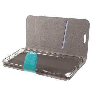 Horse peňaženkové puzdro pre mobil Xiaomi Mi5 - modré - 5