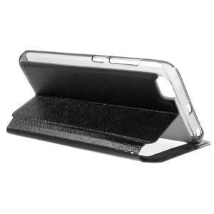 Cross peněženkové pouzdro s oknem na Xiaomi Mi5 - černé - 5