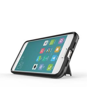 Hybridní odolný kryt pre mobil Xiaomi Mi5 - sivý - 5
