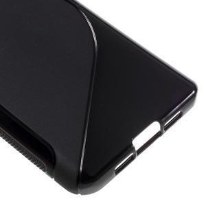 S-line gélový obal pre mobil Xiaomi Mi5 - čierný - 5