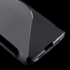 S-line gelový obal na mobil Xiaomi Mi5 - šedý - 5