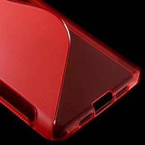 S-line gélový obal pre mobil Xiaomi Mi5 - červený - 5