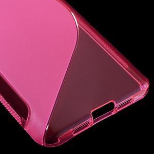 S-line gelový obal na mobil Xiaomi Mi5 - rose - 5