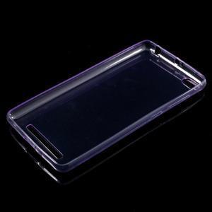 Ultratenký slim gelový obal na mobil Xiaomi Redmi 3 - fialový - 5