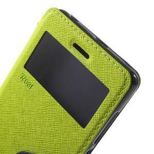 Diary view peněženkové pouzdro na Xiaomi Redmi 3 - zelené - 5