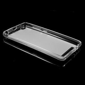 Matné gelové pouzdro na mobil Xiaomi Redmi 3 - transparentní - 5