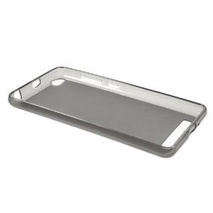 Matné gelové puzdro pre mobil Xiaomi Redmi 3 - sivé - 5