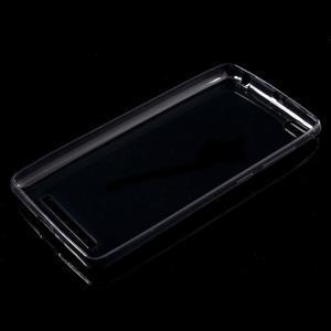 Ultratenký slim gélový obal pre mobil Xiaomi Redmi 3 - sivý - 5