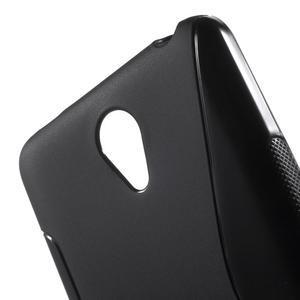 S-line gélový obal pre mobil Xiaomi Redmi Note 2 - čierny - 5