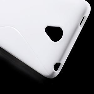 S-line gélový obal pre mobil Xiaomi Redmi Note 2 - biele - 5