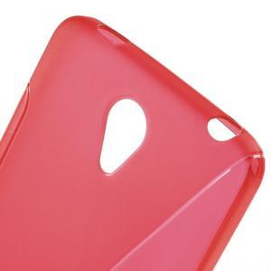 S-line gélový obal pre mobil Xiaomi Redmi Note 2 - červený - 5