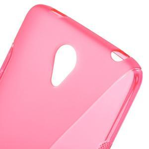 S-line gélový obal pre mobil Xiaomi Redmi Note 2 - rose - 5