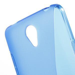 S-line gélový obal pre mobil Xiaomi Redmi Note 2 - modrý - 5