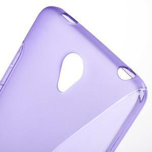 S-line gelový obal na mobil Xiaomi Redmi Note 2 - fialový - 5