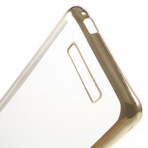 Gelový obal se zlatým lemem na Xiaomi Redmi Note 3 - 5