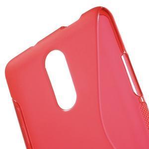 S-line gélový obal pre Xiaomi Redmi Note 3 - červený - 5