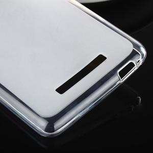 Matný gélový obal pre Xiaomi Redmi Note 3 - biele - 5