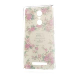 Softy gélový obal pre Xiaomi Redmi Note 3 - kvetiny - 5