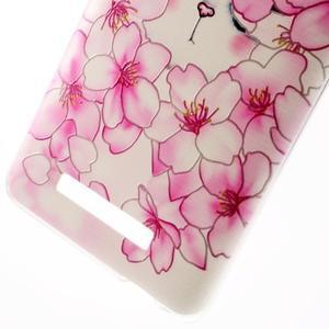 Softy gelový obal na Xiaomi Redmi Note 3 - květy švestky - 5