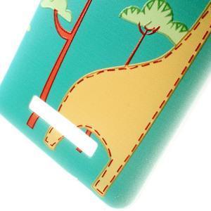 Softy gélový obal pre Xiaomi Redmi Note 3 - žirafa - 5
