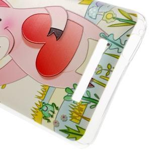 Softy gelový obal na Xiaomi Redmi Note 3 - zamilované prasátko - 5