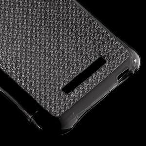 Diamonds gélový obal pre Xiaomi Redmi Note 3 - sivý - 5