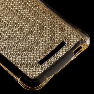 Diamonds gelový obal na Xiaomi Redmi Note 3 - zlatý - 5