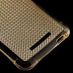 Diamonds gelový obal na Xiaomi Redmi Note 3 - zlatý - 5/5