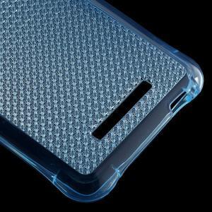 Diamonds gélový obal pre Xiaomi Redmi Note 3 - modrý - 5