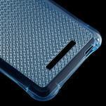 Diamonds gélový obal pre Xiaomi Redmi Note 3 - modrý - 5/5