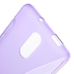 S-line gélový obal pre Xiaomi Redmi Note 3 - fialový - 5