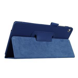 Dvojpolohové puzdro pre tablet Lenovo Tab 2 A7-20 - tmavomodré - 5