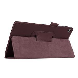 Dvoupolohové pouzdro na tablet Lenovo Tab 2 A7-20 - tmavěhnědé - 5